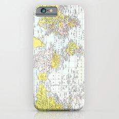 Vintage World Map iPhone 6s Slim Case