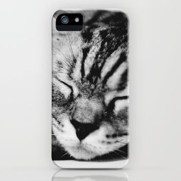 Softly Asleep iPhone Case