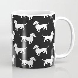Dachshunds All Over Coffee Mug