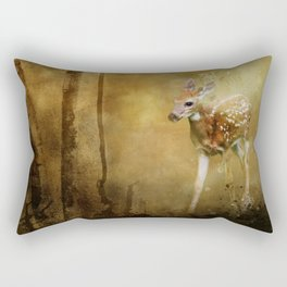 FAWN GOLDEN HOUR Rectangular Pillow