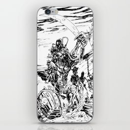 Undead pirates iPhone Skin