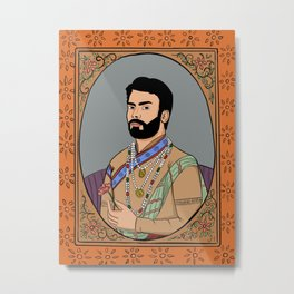 Fawad Khan Metal Print