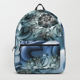 Dynamic Spiral, Abstract Fractal Art Backpack