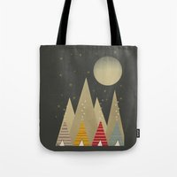 paradise Tote Bags featuring paradise by bri.buckley