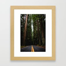 The Road to Wisdom Framed Art Print