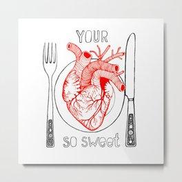 Heart Sweet Metal Print
