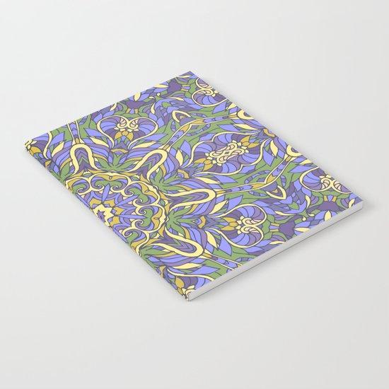 Mandala (Iris) Notebook