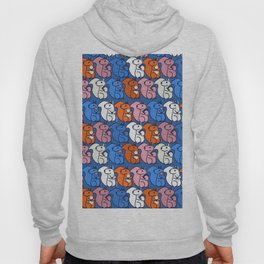 squirrels- pattern Hoody