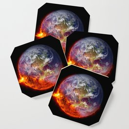 Global Warming Climate Change Coaster