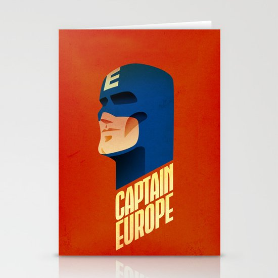 Captain Europe Stationery Cards