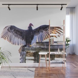 Turkey Buzzard Wall Mural