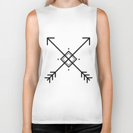 Cross arrows Biker Tank
