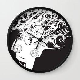 Bass Head Wall Clock