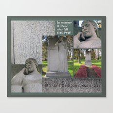 For the Fallen II Canvas Print