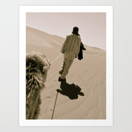 A Peaceful Journey Art Print
