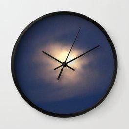 A beautiful moon Wall Clock