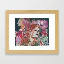 Don't tell Mama Framed Art Print
