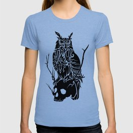 Owl and Skull T-shirt