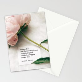 Thicker Skin Stationery Cards