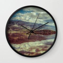 Morning reflection Wall Clock