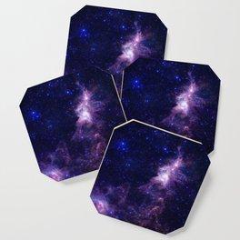 gAlAXY Purple Blue Coaster