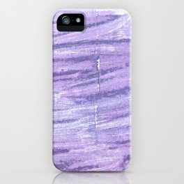 Soap abstract watercolor iPhone Case