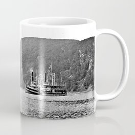 19th Century Steamboats, Anthony's Nose, Lake George Coffee Mug