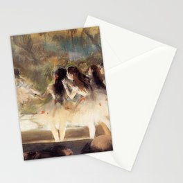 Ballet At The Paris Op Ra 1877 78 By Edgar Degas | Reproduction | Famous French Painter Stationery Cards