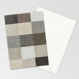 color block - gray Stationery Cards