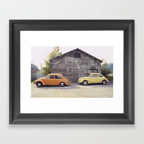 Skagway Alaska Scene Framed Art Print