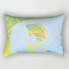 Sea Something Fishy Rectangular Pillow
