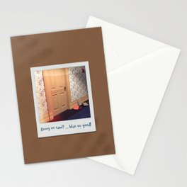 Doog os saw? … Was so good! Stationery Cards