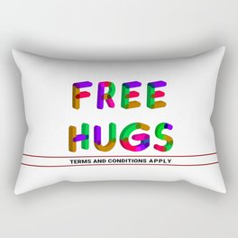 Free Hugs Rectangular Pillow