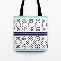 infinity Tote Bags featuring Infinity by Bunhugger Design