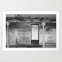 private property. Art Print