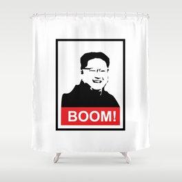 Kim Jong Un BOOM #society6 #decor #buyart #artprint Shower Curtain