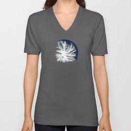 Mycelium in a petri dish Unisex V-Neck