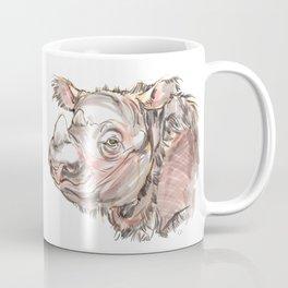"Harapan ""Harry"" the sumatran rhino Coffee Mug"