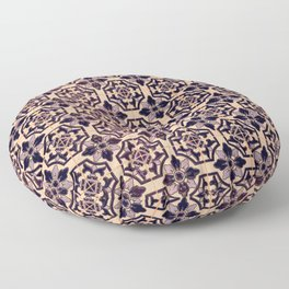 Portuguese tiles, pattern of Portugal Floor Pillow