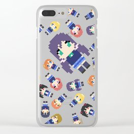 Pixel Nozomi Clear iPhone Case