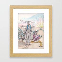 Holy Family Framed Art Print