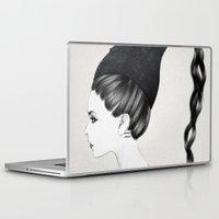 aquarius Laptop & iPad Skins featuring Aquarius by Jenny Liz Rome