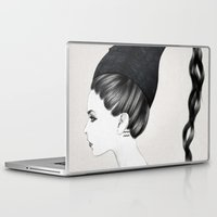 kpop Laptop & iPad Skins featuring Aquarius by Jenny Liz Rome