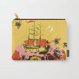 TRAVEL WITH ROSES Carry-All Pouch