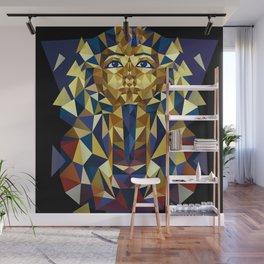 Golden Tutankhamun - Pharaoh's Mask Wall Mural