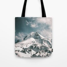 Mount Hood V Tote Bag