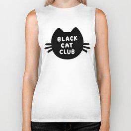 Black Cat Club Biker Tank
