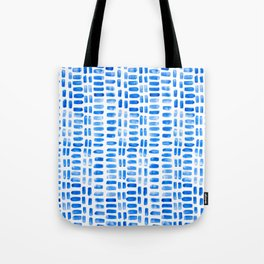 Abstract rectangles - blue Tote Bag