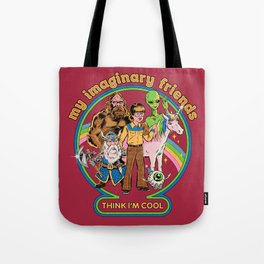 My Imaginary Friends Tote Bag