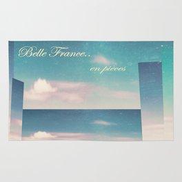 Belle France, en pièces Rug